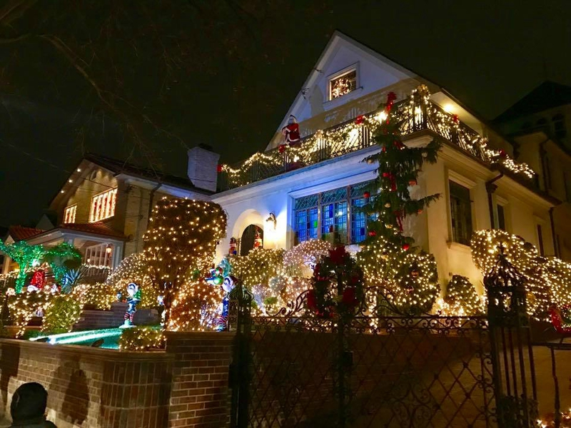 Dyker Heights village noël brooklyn new york (6)