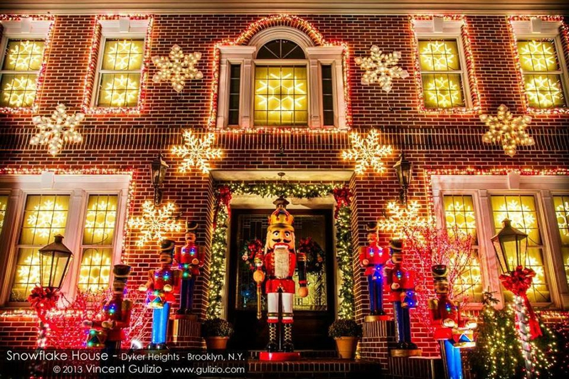 Dyker Heights village noël brooklyn new york