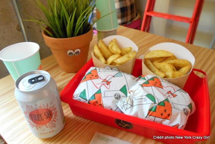 La trocadero burger vegan bio barcelone