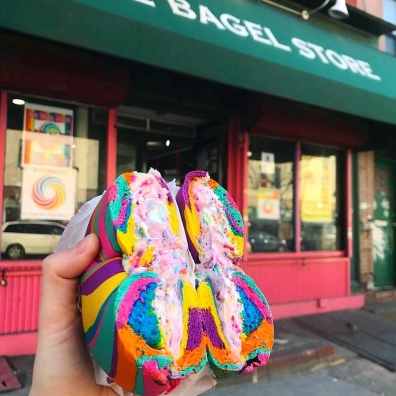 (crédit photo The Bagel Store)