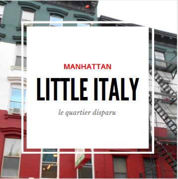 little italy manhattan