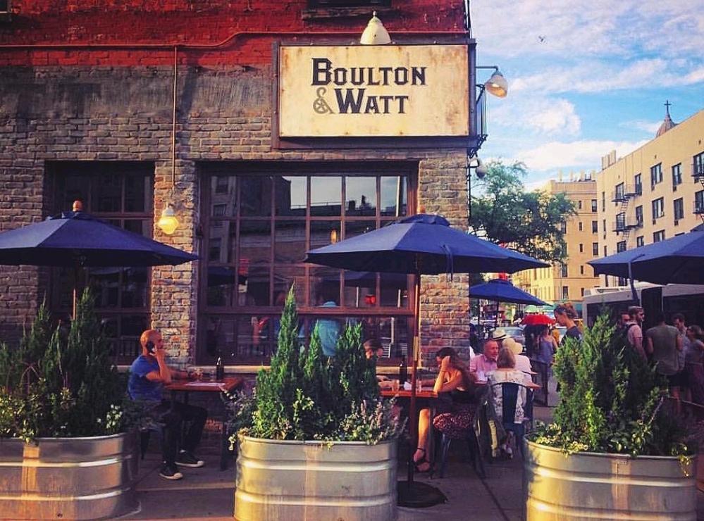 boulton & watt bar brasserie alphabet city